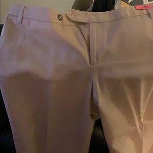Gap wide leg khaki pants